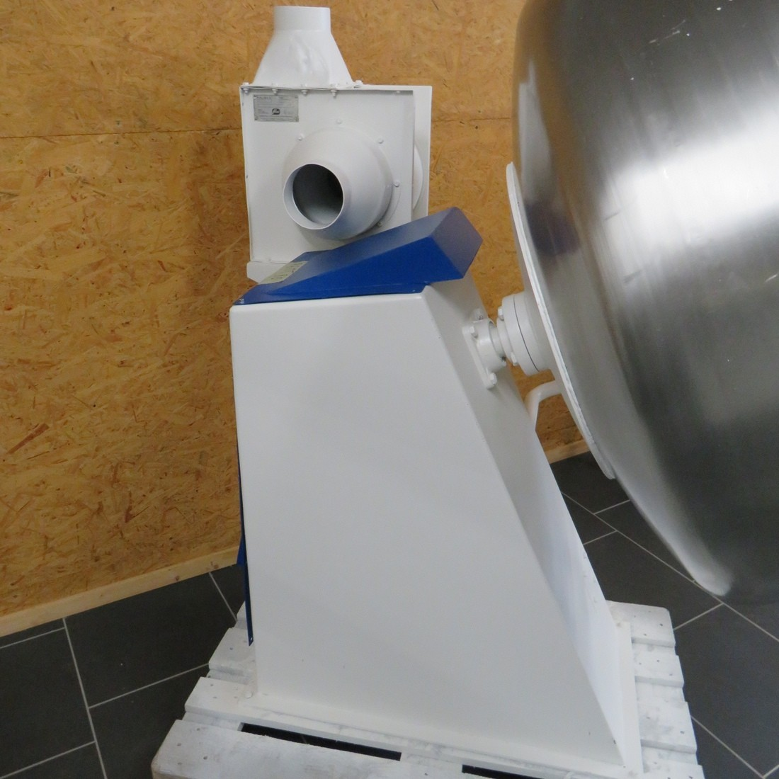 R6MT82 Stainless steel similar to the branc DUMOULIN Coating pan - diam 1200 mm