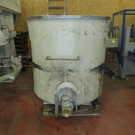 R6T1272 DRAIS dissolver Type RN3-75/VA with 3 vessels 1400 liters