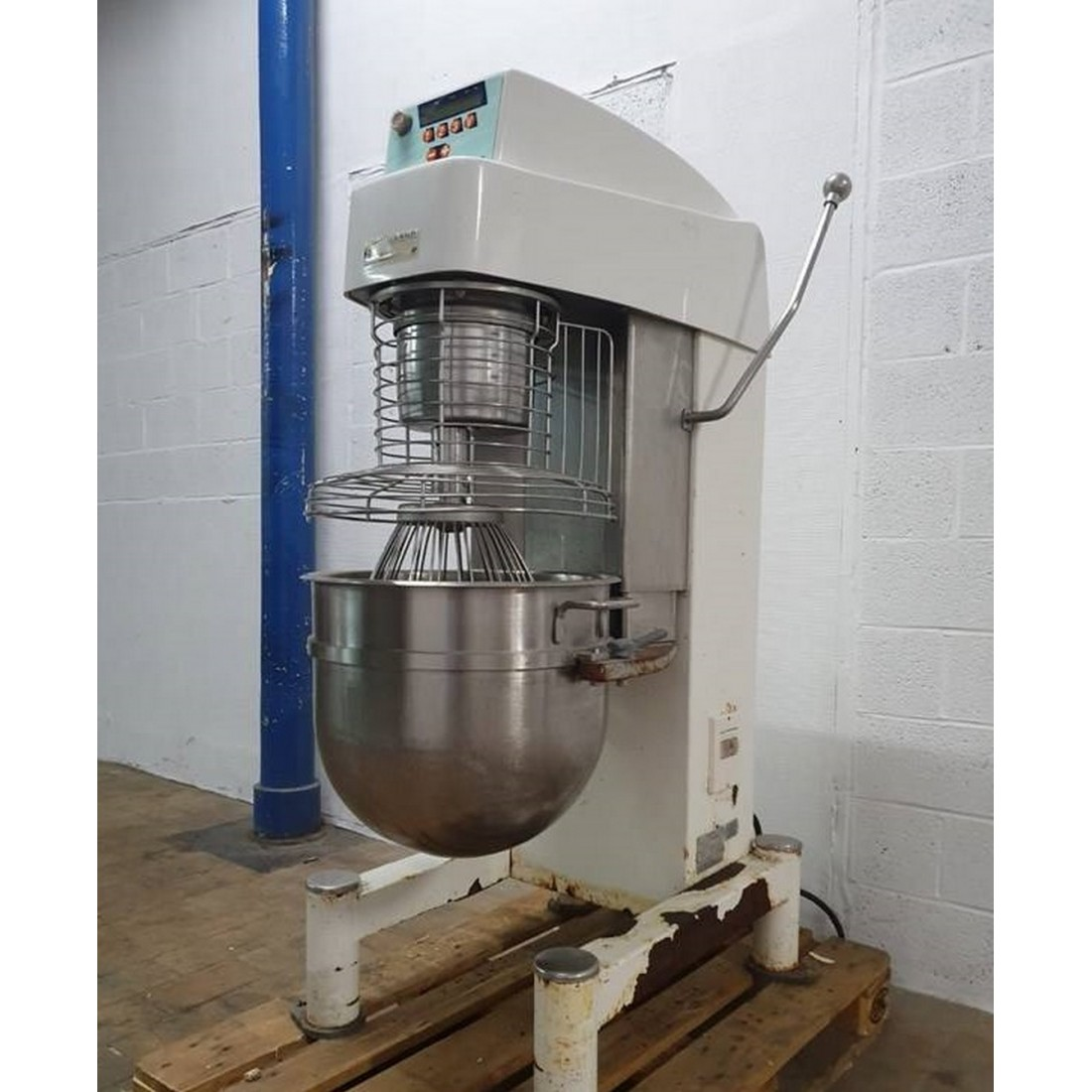 R6MP115 Stainless steel VMI planetary mixer Type PH602 EV - 60 liters