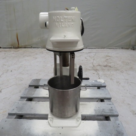 R6ME6377 Stainless steel MOLTENI mixer 1.5 type useful capacity 5 litres