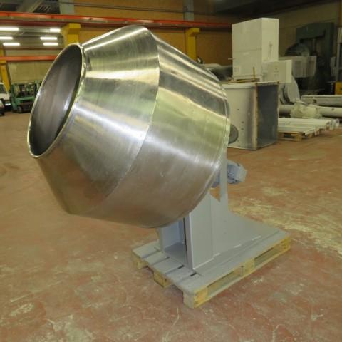 R6MT83 Turbine à dragéifier Inox - diam 1200 mm