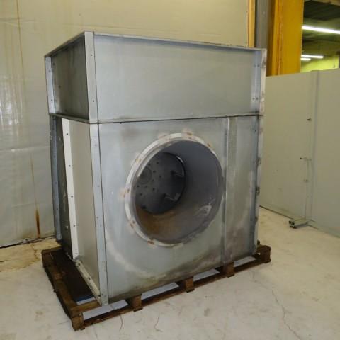 R1X1271 Ventilateur centrifuge Acier 7.5kw - 1000t/min
