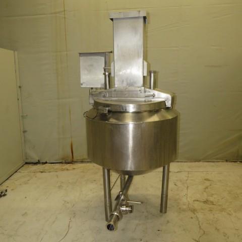 R6MA6146 Cuve mélangeuse Inox double enveloppe - 300 litres