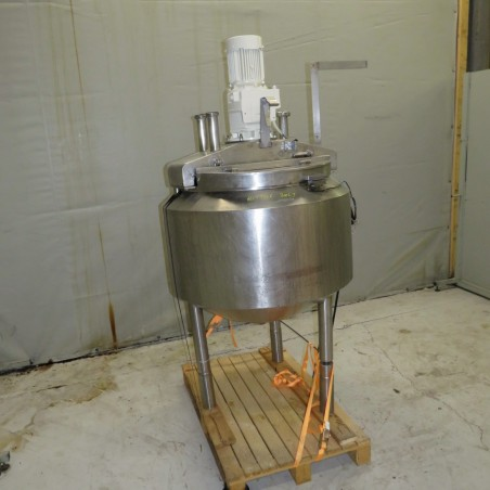 R6MA6146 Stainless Steel mixing tank - 300 liters with double jacket