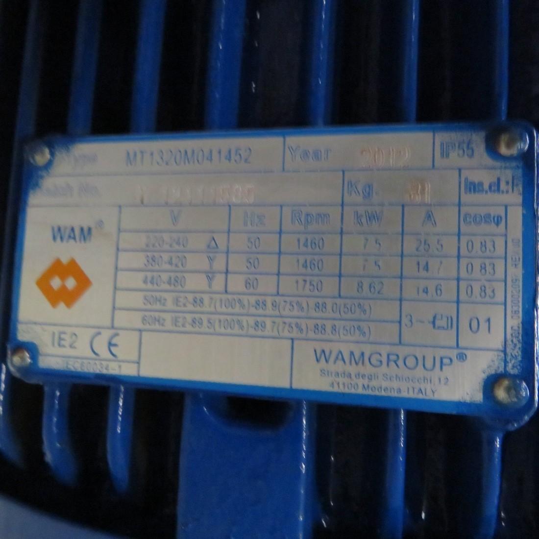 R6ME6383 Mild steel WAM dust conditioner mixer - hp10
