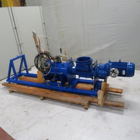 R6ME6383  Mélangeur humidificateur conditionneur de poussières WAM Acier - 7.5kw