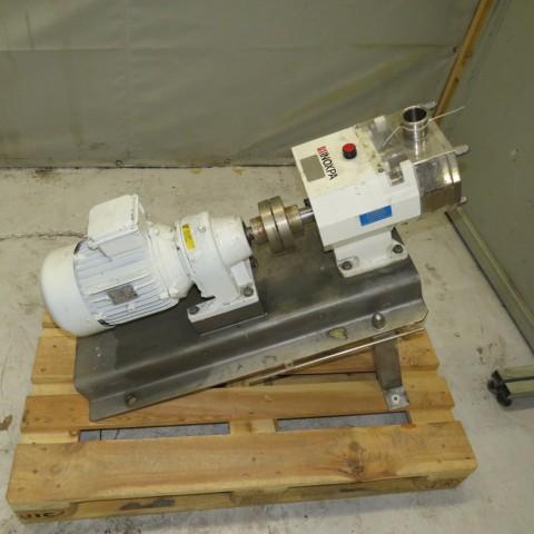 R10DE846 Pompe à lobes INOXPA inox - Type SCR3-50 - 4kw
