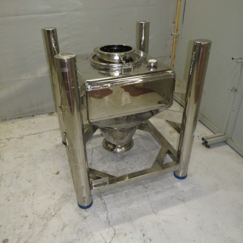 R11CB183 Stainless steel container BSIPM - Type NGC 215L - 215 liters