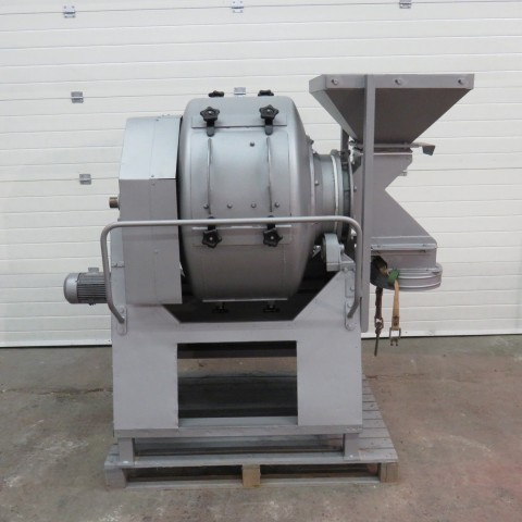 R6MC990 Mild steel VIDAX rotary mixer Type n°0 - 100 liters 0.37kw/hp 0.5