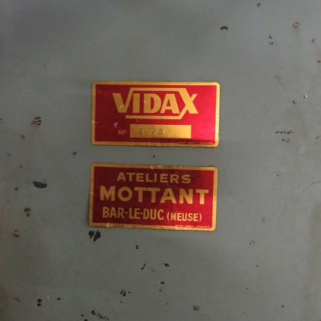 R6MC990 Mild steel VIDAX rotary mixer Type n°0 - 100 liters 0.37kw/hp 0.5