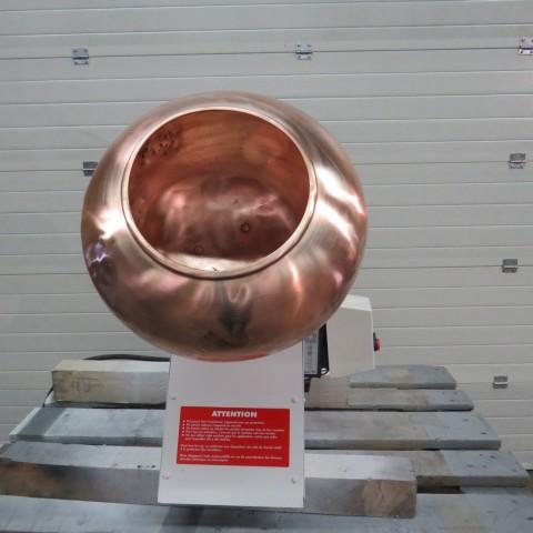R6MT84 Turbine à dragéifier Cuivre Ø 390mm - 0.75kw - 30t/min