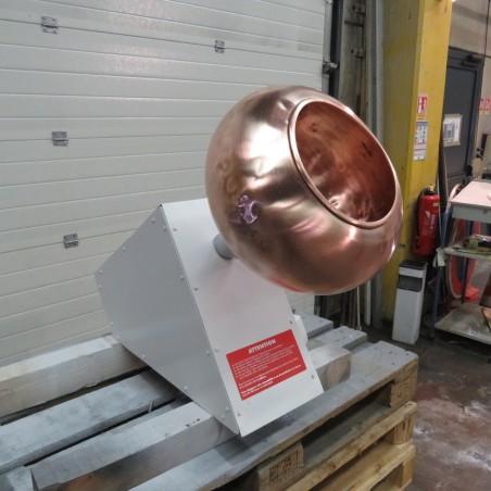 R6MT84 Copper Coating pan Ø390mm - hp1 - rpm30