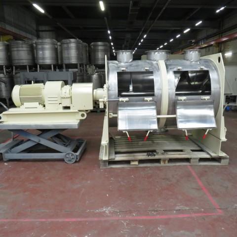 R6ML1376 Mélangeur à socs LODIGE FKM 1600 en inox 1600 litres