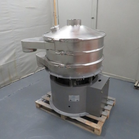 R6SA1136 Stainless steel VIBROWEST Circular sieve - Type ME36 - Ø900mm - 2 deck