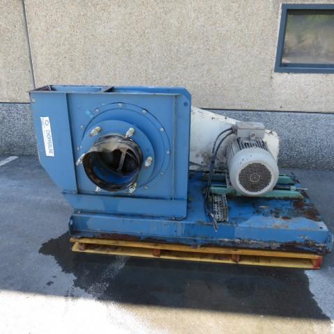 R1X1273 Ventilateur centrifuge Acier DELTA NEU - Type Chopperline CTX 63F
