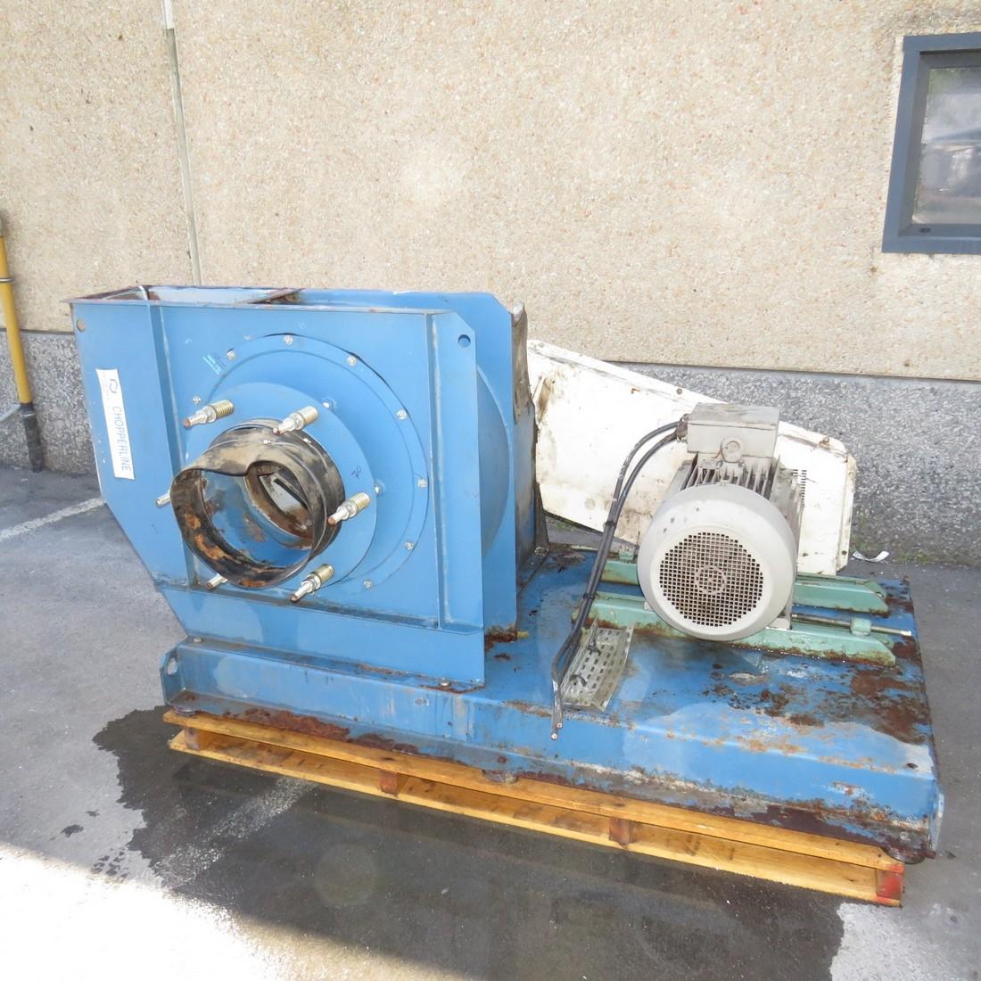 R1X1273 Mild steel DELTA NEU Centrifugal fan - Type Chopperline-CTX 63F