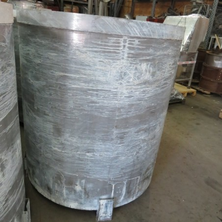 R6T1273 Stainless steel MILLCHEM dissolver - Type FMG25HD 1300 liters