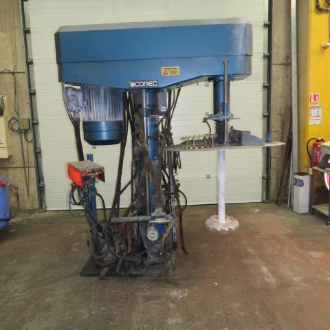 R6T1275 COMEC dissolver - type DM-50F with a 1300 liters tank