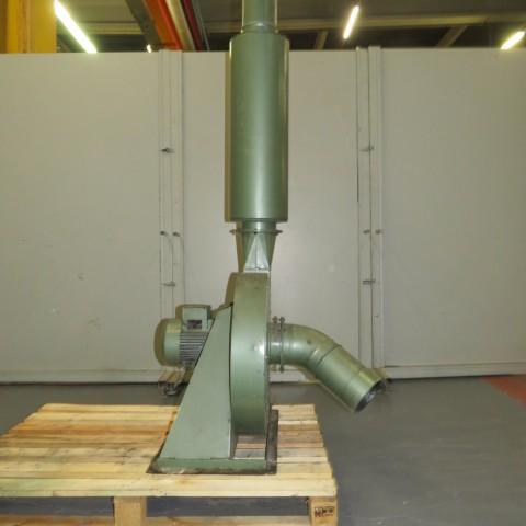 R1X1275 Ventilateur centrifuge Acier - 2.2Kw - 3000t/min