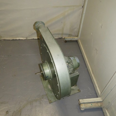 R1X1277 MOUZON Mild steel Centrifugal fan - Type C2.08 - Hp1.5