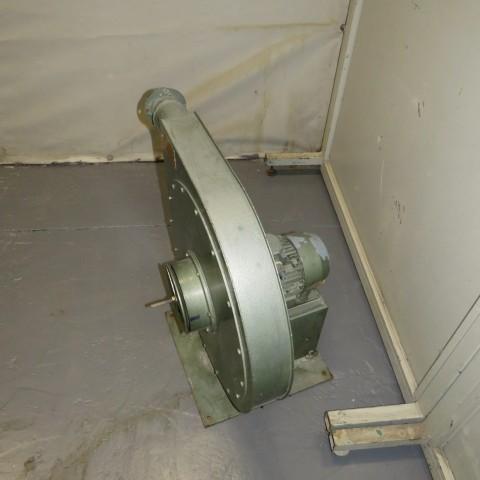 R1X1277 Ventilateur centrifuge MOUZON Acier - Type C2.08 - 1.1Kw - 3000t/min