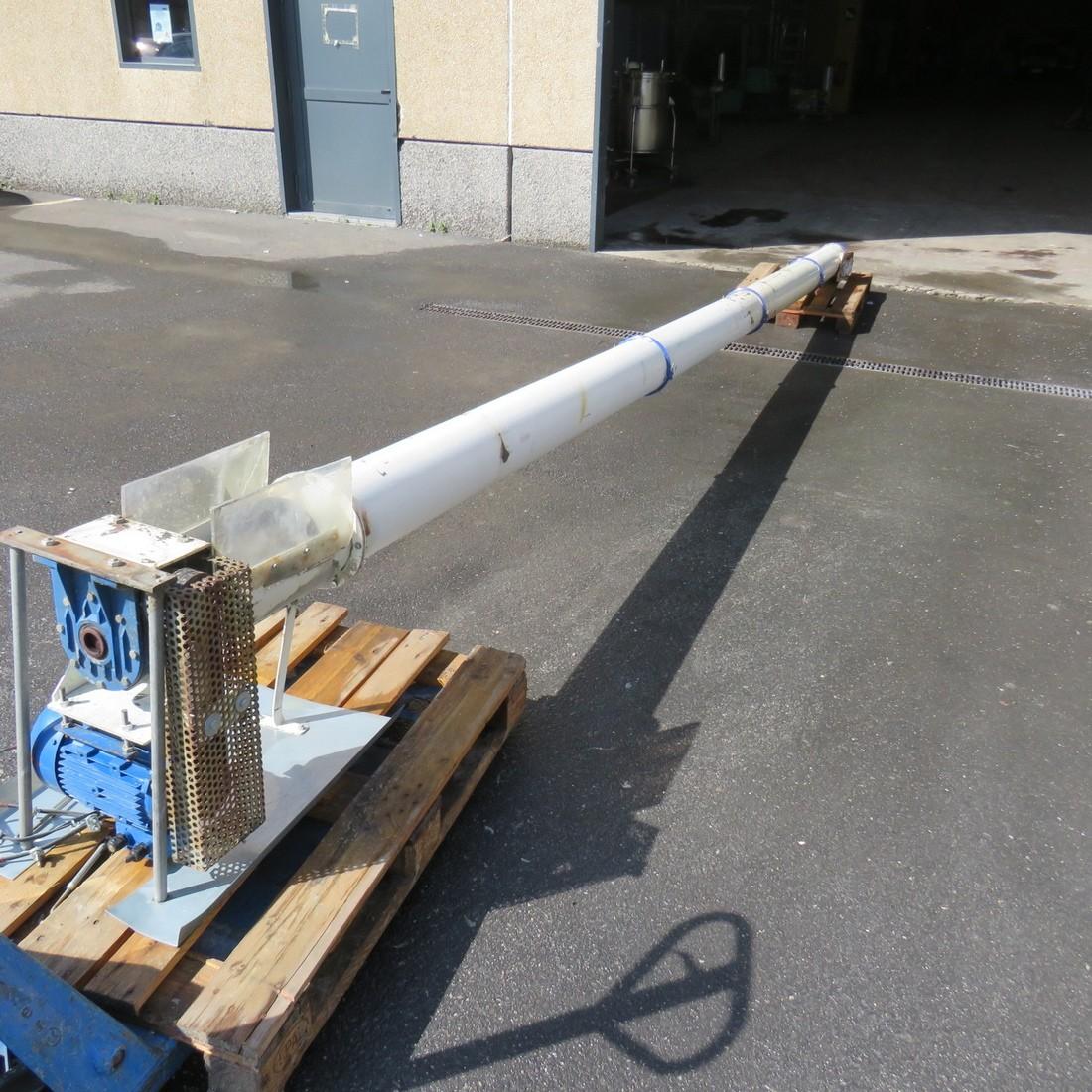 R4S1088 Mild steel Screw under tube Ø160mm
