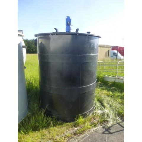 R6MA6151 PEHD Mixing tank - 4000 liters - Hp0.75 - Rpm171