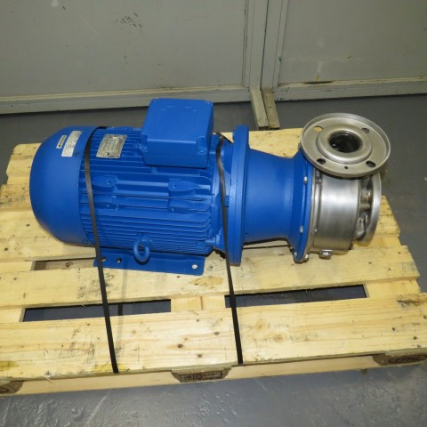 R10VA1281 Stainless steel LOWARA electric pump - Type SHS 65-160/110P - Hp15