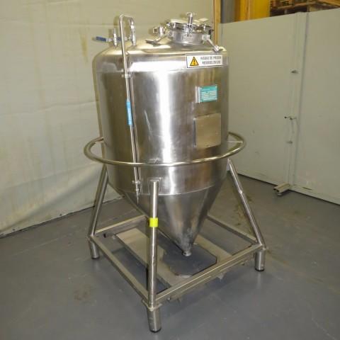 R11DB22682 Cuve de stockage Inox PECOURT - 600 Litres