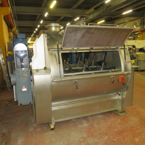R6ME6384 Stainless steel STOLZ TECHNOLOGIE FORBERG Mixer - 2000 Liters - Hp60