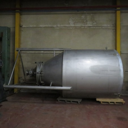 R11TB891 Stainless steel silo - 13000 Liters