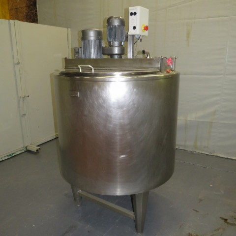 R6MA6153 Stainless steel PIERRE GUERIN Mixing tank - 500 liters - Hp 3.4