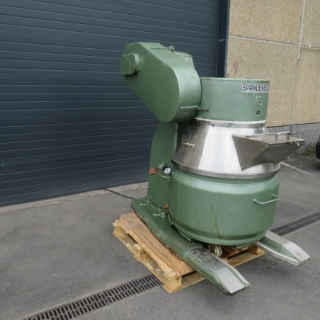 R6MP116 Stainless steel SPANGENBERG Planetary mixer double jacket - Type PH320 - 250 liters