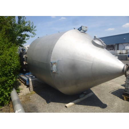 R11TB892 Stainless steel silo - 14500 liters - visble by appointment