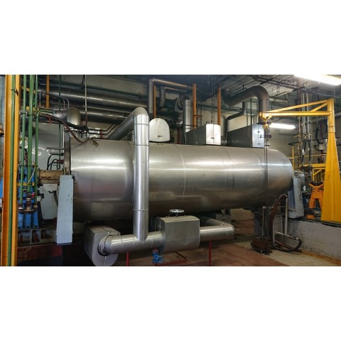 R1V1053 Stainless steel FLASH-VRV Dryer 3000 liters  - Visible by appointment
