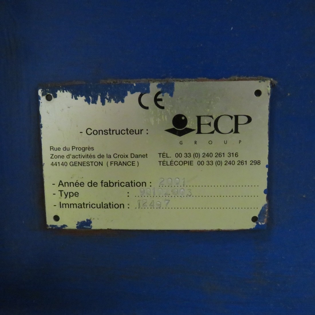 R6BK789 Mild steel ECP Shredder - Type 9010 2003 - Hp4