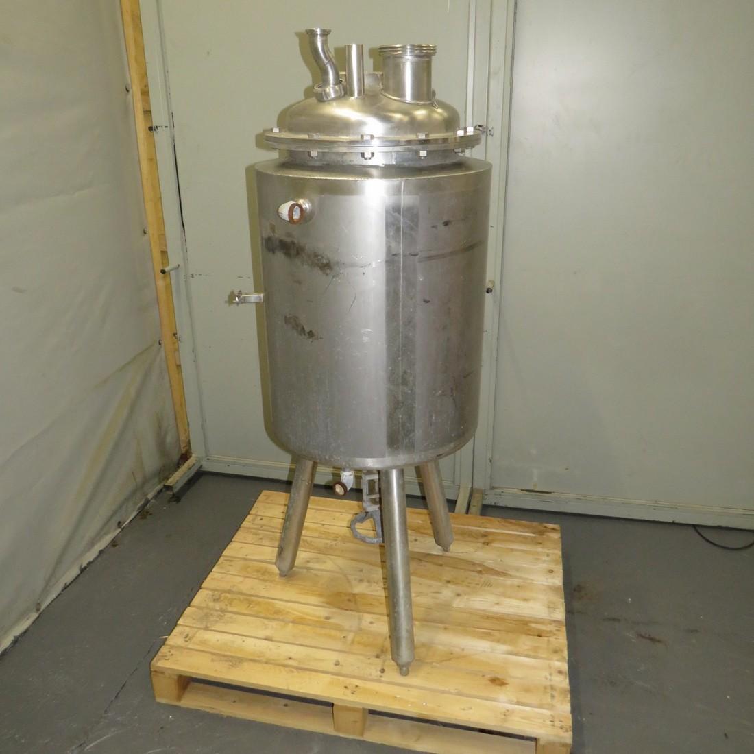 R11DB22686Stainless steel PROMINOX vessel - 80 liters - Double jacket