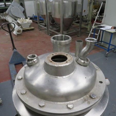 R11DB22686 Stainless steel PROMINOX vessel - 80 liters - Double jacket