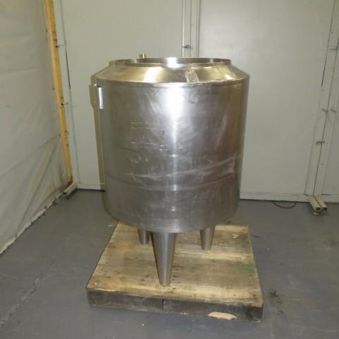 R11DB22685 Stainless steel GOAVEC vessel - 200 liters - double jacket