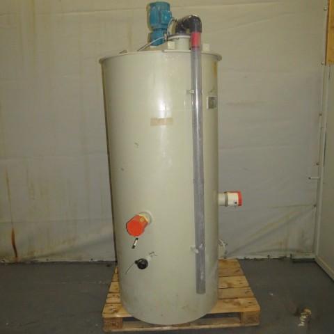 R6MA6154 Polypropylene VENTACID Mixing tank - 750 liters