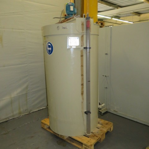 R6MA6155 Cuve mélangeuse CADIOU PLASTIQUE polypropylène  - 1000 litres