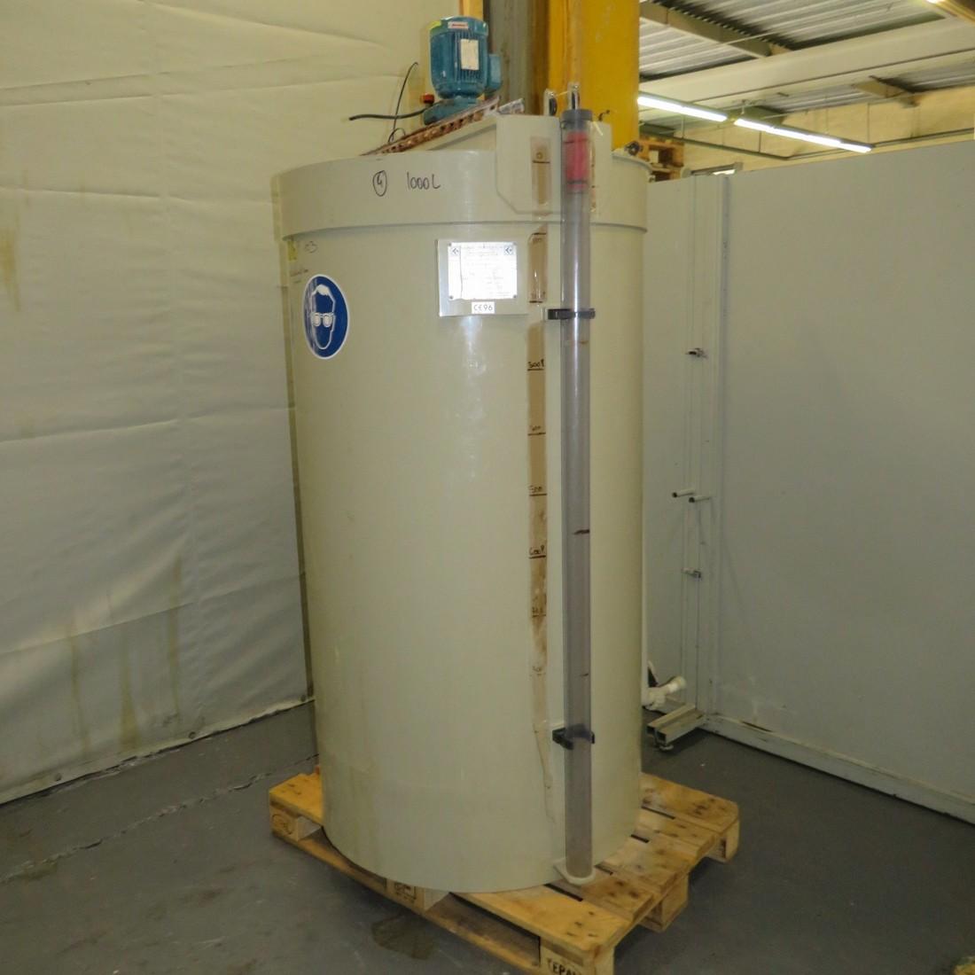 R6MA6155 Polypropylene CADIOU PLASTIQUE Mixing tank - 1000 liters