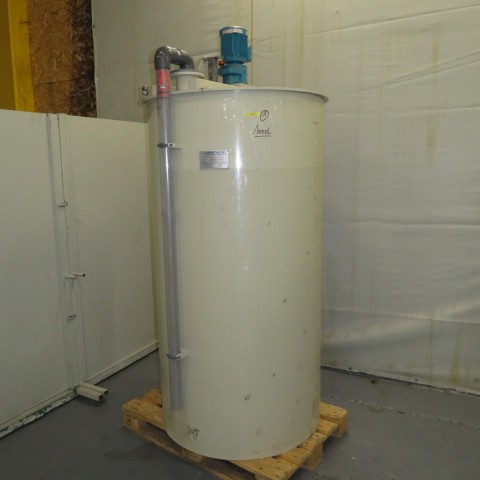 R6MA6156 Polypropylene VENTACID Mixing tank - 1000 liters