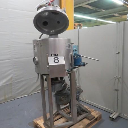 R1V1054 GUEDU vacuum dryer - Type 90NOPO - 90 liters