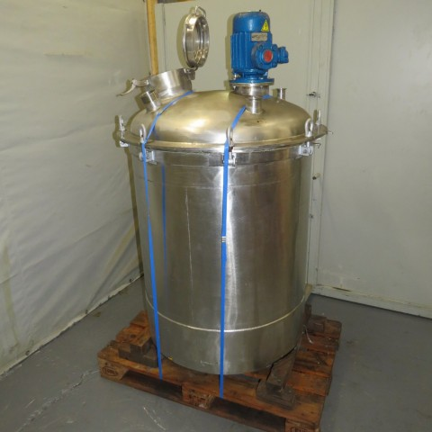 R6MA6159 Stainless steel mixing tank - 650 liters