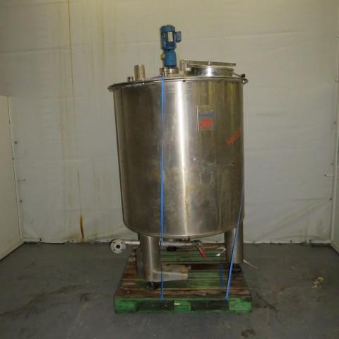 R6MA6161 Cuve mélangeuse inox RAYNERI - 1500 litres