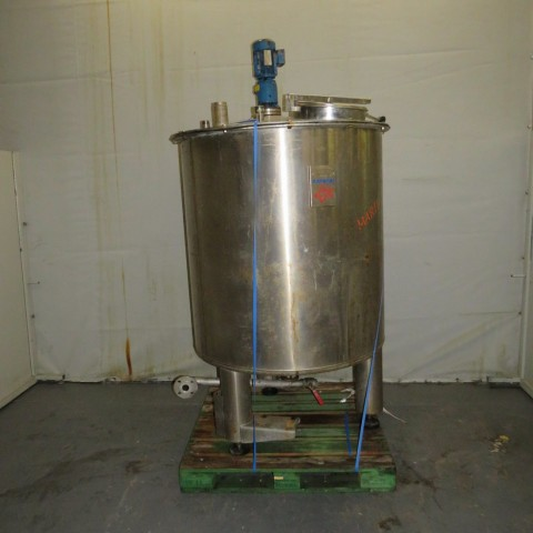 R6MA6161 Stainless steel RAYNERI mixing tank - 1500 liters