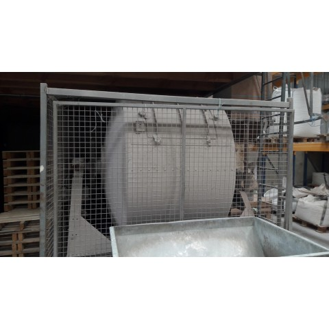 R6MC991 Mild steel rotary mixer - 2000 liters - visible by appointment