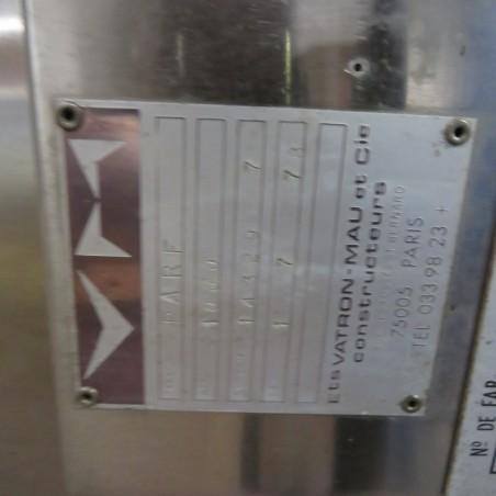 R11DB22692 Stainless steel VATRON-MAU vessel - 1000 liters