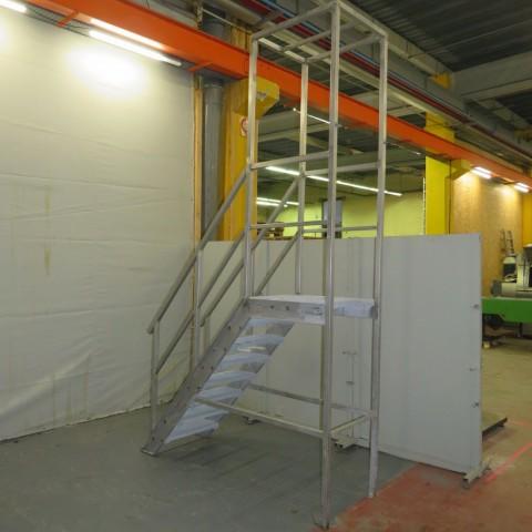 R15A1057 Escalier Inox